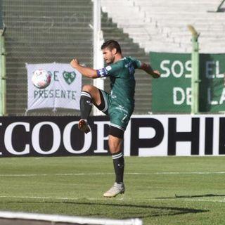 Gol de Sarmiento: Gabriel Graciani 1-0