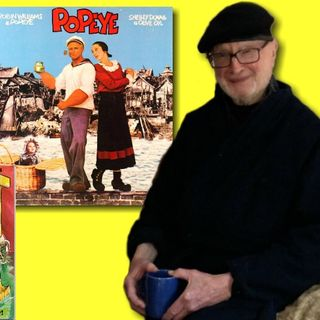 #313: Jules Feiffer, Pulitzer Prize-winning cartoonist & writer on the 40th anniversary of the Popeye feature film!