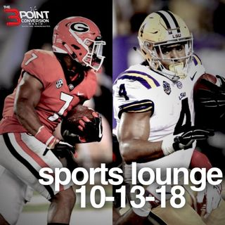 The 3 Point Conversion Sports Lounge- Did Jimmy Go To Far, MLB Championship Series, Big Day In College Football What Happens  With Le'Veon