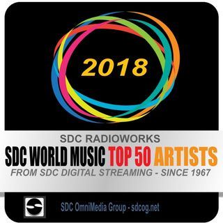 SDC World Music Artist Top 50 - Show #2 - 40 to 31