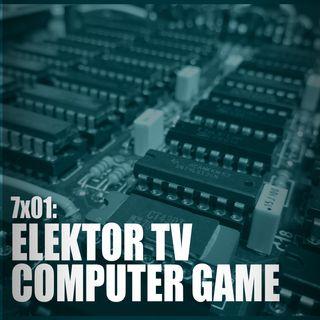 AI 7x01: ELEKTOR TV COMPUTER GAME, La Macchina Dimenticata