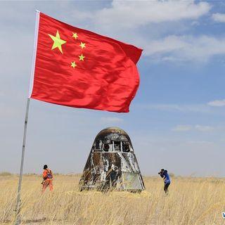 Cina, la capsula torna sulla Terra