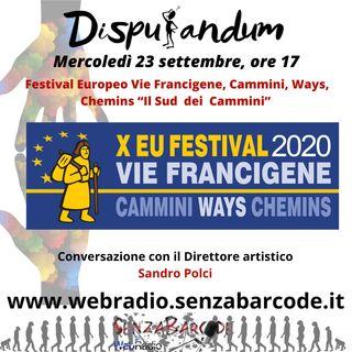 Festival Europeo Vie Francigene con Sandro Polci