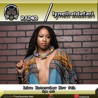 Quarantine Radio Live Interview With Lynell