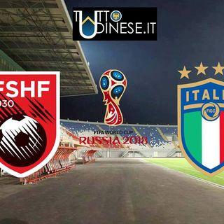 #DIRETTA STADIO - Albania-Italia