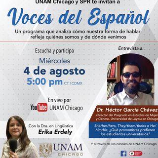 VOCES DEL ESPAÑOL 076 Entrevista al Dr. Héctor García Chávez