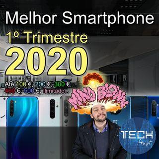 O melhor smartphone em 2020 até 100€, 200€, 300€, 400€, 500€, … (1º trimestre)