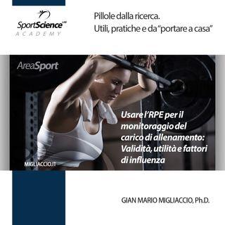 RPE e carico interno dell'allenamento