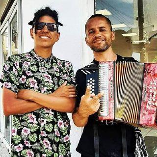 los compadres y Ángel Arauza y Orlando Velez