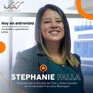 E10 Stephanie Falla Directora en Escuela de Cine y Artes en Univ. Francisco Marroquín Guatemala