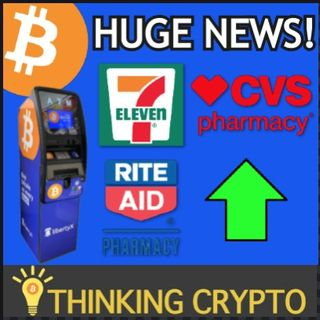 Buy BITCOIN at 20,000 7-Eleven, CVS & Rite Aid Locations - KPMG Launches Crypto Tools