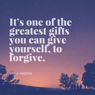 FORGIVENESS, IS IT HOLDING YOU BACK FROM YOUR GOOD?