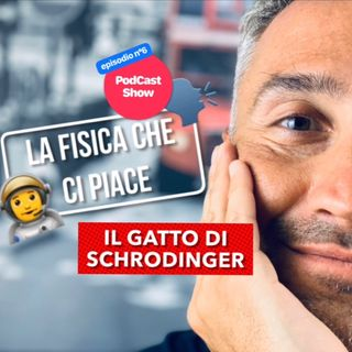Gatto di Schrodinger - Episode 6 - La Fisica Che Ci Piace - PodCast Show! 🗣