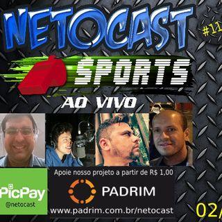NETOCAST 1145 DE 02/05/2019 - ESPORTES - F1 - FUTEBOL - NFL - NBA - UFC - BELLATOR