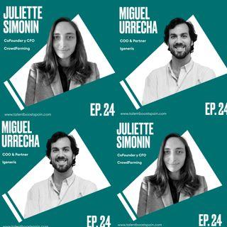 Episodio 24: Emprendimiento, el management de la era VUCA con Juliette Simonin y Miguel Urrecha