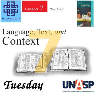 646-Sabbath School - 12.May Tuesday