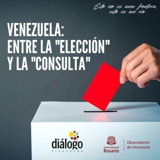 Venezuela: entre la elección y la consulta