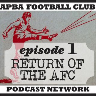 Ep 1 |  State of APBA Football; promotion and evolution of the game; the basic vs. master question