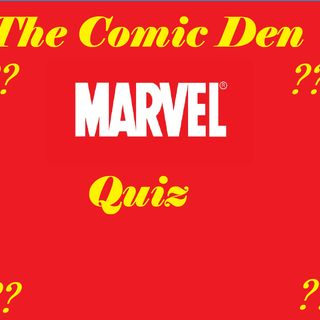 Marvel Quiz Show: Episode 1- Connor & Jelvin