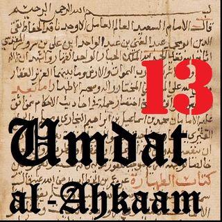 UA13 Janaabah: Post-Intercourse Impurity