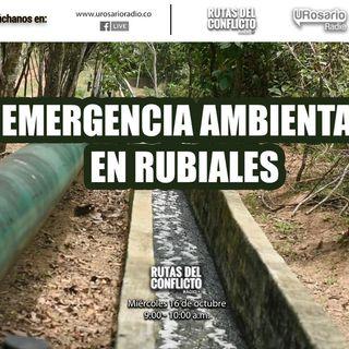 Emergencia Ambiental en Rubiales