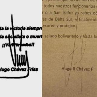 ¿Firmas de Chávez en Perú?
