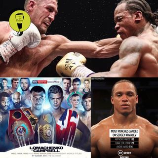 Kovalev beats Yarde & Lomachenko v Campbell preview!!