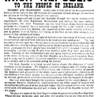 La Rivoluzione Irlandese e le differenze con gli Italiani