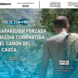 Desaparición forzada: tragedia compartida en el cañón del rió Cauca