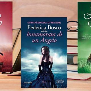 Federica Bosco esce il 5 ottobre con il nuovo romanzo legato alla trilogia dell'angelo, ma prima... facciamo un ripasso!