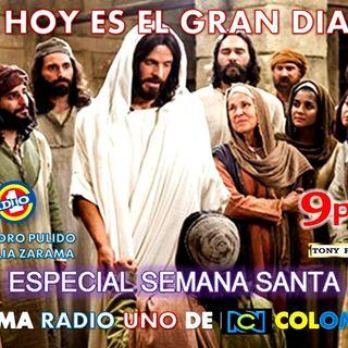 SANTA MARTHA EN RADIO UNO DE RCN