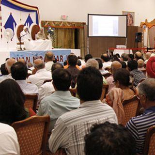 Fort Myers Florida, US, September 22, 2011: Discourse by Nirankari Baba Ji