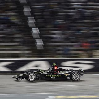 IndyCar Puts on a Show under the Lights in Texas