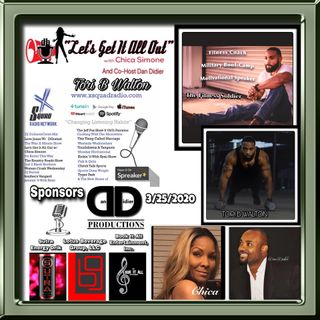 """Our Special Guest Today Is The Fitness Soldier & Motivational Speaker Tori B. Walton!  We Will Be Discussing """"Mind, Body & Soul""""!"""