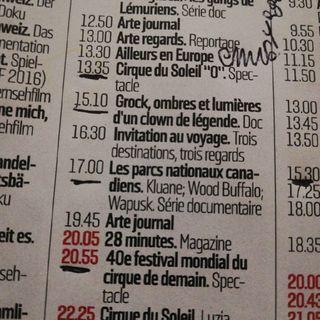 Cirque du Soleil et Festival du cirque du demain #CMVoyages #CMLoisir
