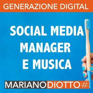 Puntata 44: Il social media manager nell'ambito musicale