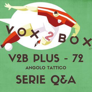 Vox2Box PLUS (72) - Angolo Tattico: Serie Q&A