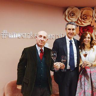 Un bicchiere con Roberto Arditti e Ettore Nicoletto