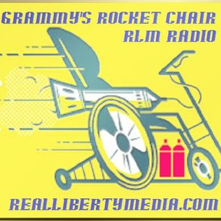 Grammy's Rocket Chair Podcast Blog - 2019-06-14 - #FullMoon #ThinkB4YouAct #Frequency #Vibrations