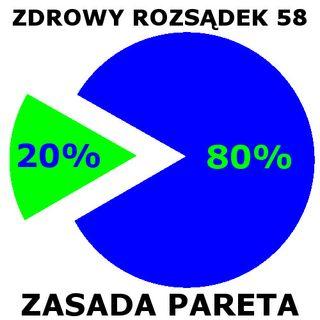 58 - Zasada Pareta