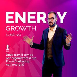 Dove trovi il tempo per organizzare il tuo Piano Marketing nell'energia?