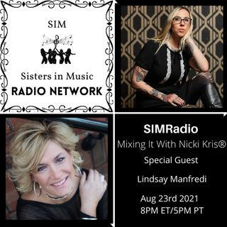 Mixing It with Nicki Kris - Bassist, Author, Mom, and Advocate Lindsay Manfredi