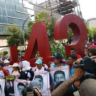 Lanzan campaña Ayotzinapa: 43 días por los 43