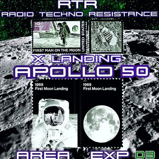 X LANDING - APOLLO 50 - New Techno Electro vinyls selection by Gian Mario Avena