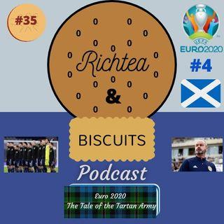 Euro 2020 #4 - Episode 34 - Scotland, The Tale of the Tartan Army