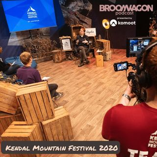 Jenny Rice and Steve Scott from Kendal Mountain Festival 2020 #outdoorfestival