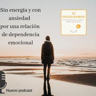 Sin energía por una relación de dependencia emocional