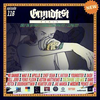 [8/5] #GryndfestRadio Ep.116 @cultravibe Guestmix w/ @sansemojiheart