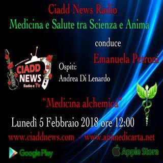 "n 10°- Medicina e Salute tra Scienza e Anima presenta Emanuela Petroni – ""Medicina alchemica"""