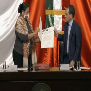 Entrega Herrera Paquete Económico 2021 a la Cámara de Diputados